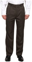 Perry Ellis Portfolio Classic Fit Double Pleated Micro Melange Pant