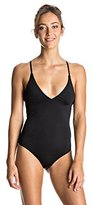 Roxy Women's Strappy Love Criss Cross One Piece Swimsuit