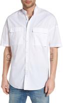 Zanerobe Rugger Band Collar Shirt