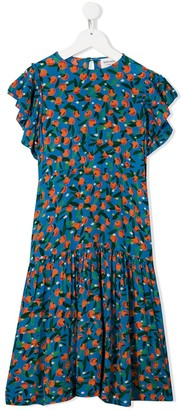Bobo Choses fruit-print Flamenco dress