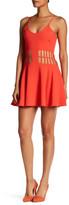 Dress the Population Heather Cutout Skater Dress