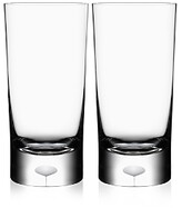 Orrefors Intermezzo Satin Highball Glass, Set of 2