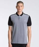 Fred Perry Color Block Pique Polo Shirt