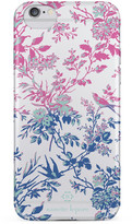 Nanette Lepore Pink/Blue Botanical iPhone 6/6s Frosted Case