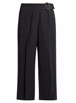 A.L.C. Emliy cropped wide-leg crepe trousers