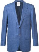 Kiton flap pocket blazer - men - Silk/Linen/Flax/Cashmere - 54