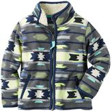 Carter's Boys 4-8 Patterned Microfleece Zip-Up Jacket