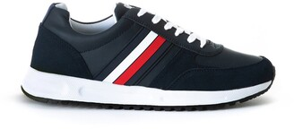 Tommy Hilfiger Modern Corporate Leather Runner Trainers