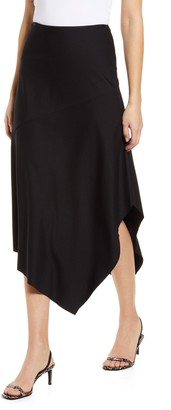 Lysse Rose Handkerchief Hem Midi Skirt