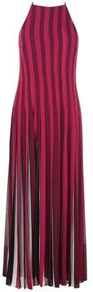 MICHAEL Michael Kors MICHAEL Pleated Multiple Stripe Dress