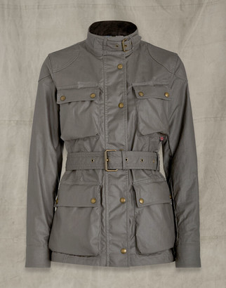 Belstaff TRIALMASTER JACKET Grey UK 4 /