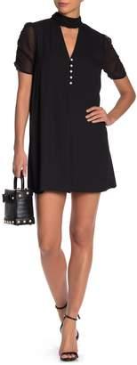 BCBGeneration Ruched Sleeve Dress