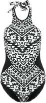 Seafolly KASBAH Swimsuit black/white