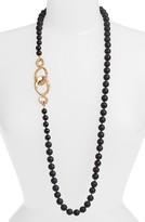 Simon Sebbag Women's Matte Onyx Bead Necklace