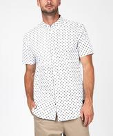 Zanerobe 7 Ft Facet Short Sleeve Shirt White