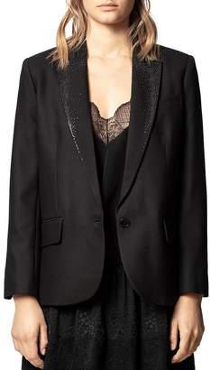 Zadig & Voltaire Embellished Blazer
