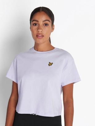 Lyle & Scott Crop T-Shirt - Lilac