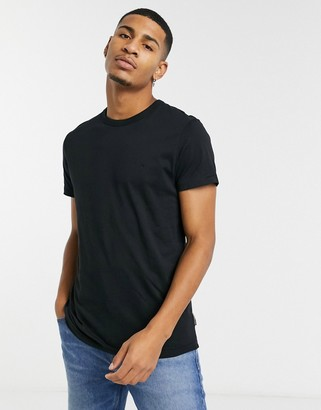 French Connection organic cotton boxy fit t-shirt in black