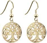 Tara Tree of Life Earrings Plated Made in Ireland