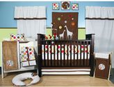 Bacati 10-pc. Baby & Me Crib Set
