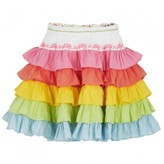 Oilily Ruffle Color Skirt