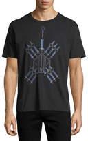 Valentino Love Blade Cotton Crewneck T-Shirt