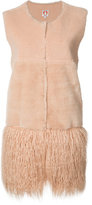Shrimps - Georgie gilet - women - Acrylic/Modacrylic/Polyester/Wool - 8