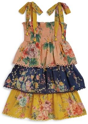 Zimmermann Zinnia Tiered Floral Dress