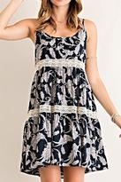 Entro Milkweed Print Dress
