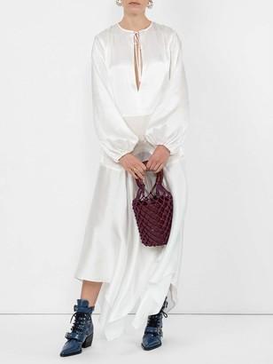 Marques Almeida Asymmetric Hem Dress