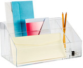 Container Store Acrylic Desktop Mail Center