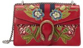 Gucci Dionysus Embroidered Leather Shoulder Bag - None