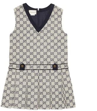Gucci Children's GG canvas dress