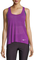 Nike Breeze Cool Scoop-Neck Racerback Running Tank