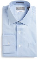 John W. Nordstrom Traditional Fit Non-Iron Solid Dress Shirt