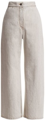 Rachel Comey Bishop High-Rise Wide Leg Crop Jeans