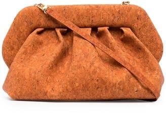 Themoire Bios large cork clutch bag