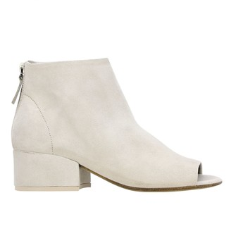 Marsèll Cubetto Ankle Boot In Suede
