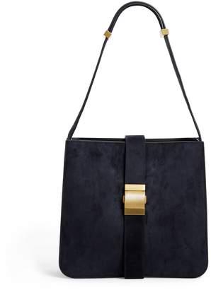 Bottega Veneta Suede Marie Shoulder Bag