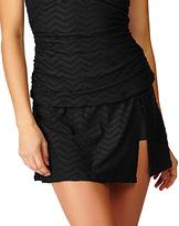 Leilani Black Leeward Islands Bikini Skirt