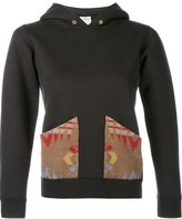 Visvim Aztec Patch Hoodie - women - Cotton - L