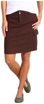 Carve Designs Rainer Cargo Skirt (Espresso) - Apparel