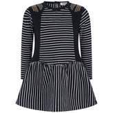 Ikks IKKSGirls Navy Striped Dress