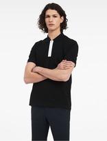 Calvin Klein Platinum Tuxedo Pique Polo Shirt
