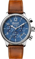 Ingersoll Men's Automatic Stainless Steel and Leather Casual Watch, Color:Brown (Model: I03801)