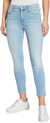Mother The Looker Mid-Rise Cropped Jeans