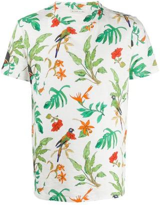 Etro tropical print T-shirt