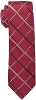 Haggar Men's Tall Performance Extra Long Grid Necktie