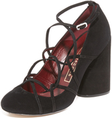 Marc Jacobs Carrie Ghillie Pumps