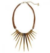 Mela Artisans Barcelona Spike Necklace